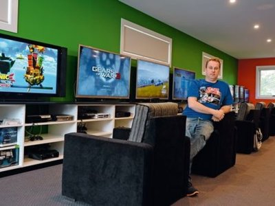 Imagen de la semana: la envidiable colección de videojuegos que va para récord Guinness