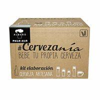 Gran regalo para los cerveceros: kit de elaboración de cerveza rubia Pale Ale de Cervezanía por 41,15 euros en Amazon
