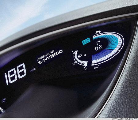 cuadro del Nissan Serena híbrido