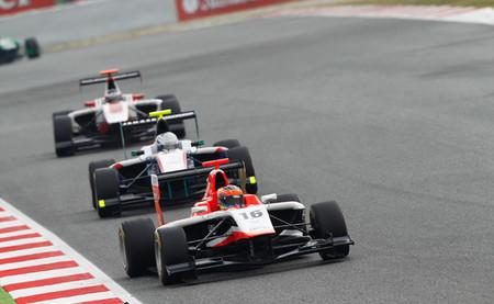 Dean Stoneman 2014 GP3 Barcelona