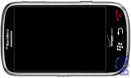 BlackBerry Thunder 9500 con pantalla táctil