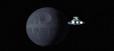 'La Guerra de las Galaxias' hecha con las manos