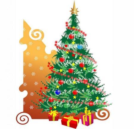 Adornando el árbol de Navidad a última hora