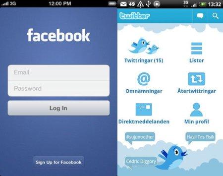 Los usuarios de iPhone usan más Facebook que los de Android