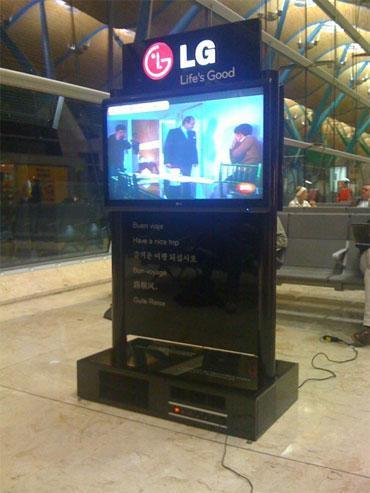 Cargador de baterías gratis en Barajas