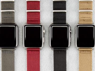 Aumenta la oferta de correas para Apple Watch: Incase y Belkin avanzan sus referencias