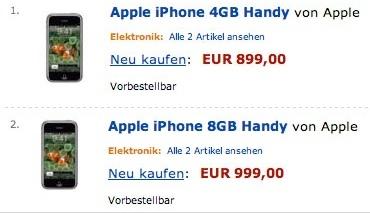 ¿El iPhone ya en Amazon Alemania?