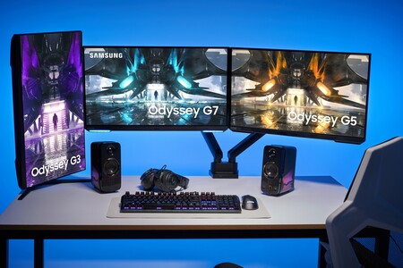 Samsung Odyssey G7, G5 y G3: así son los nuevos monitores gaming de Samsung para jugar hasta en 4K a 144 Hz