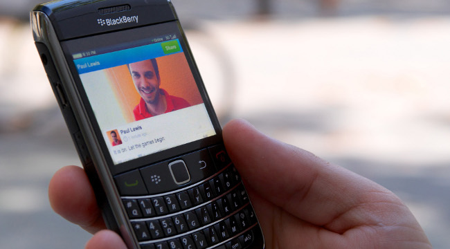 Tuenti Social Messenger en BlackBerry