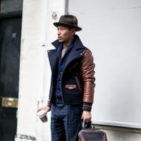 Look informal con sombrero