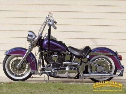 1995 Harley-Davidson Heritage Softail Scooter Trash