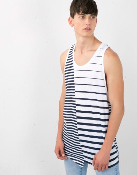 Clon De La Semana Camiseta Rayas Marineras