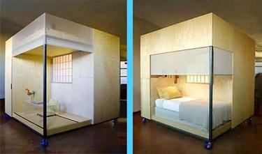 Vivir en un cubo inspirado en el Feng Shui