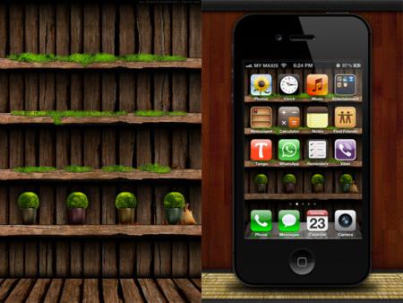 Fondo para el iPhone de plantas