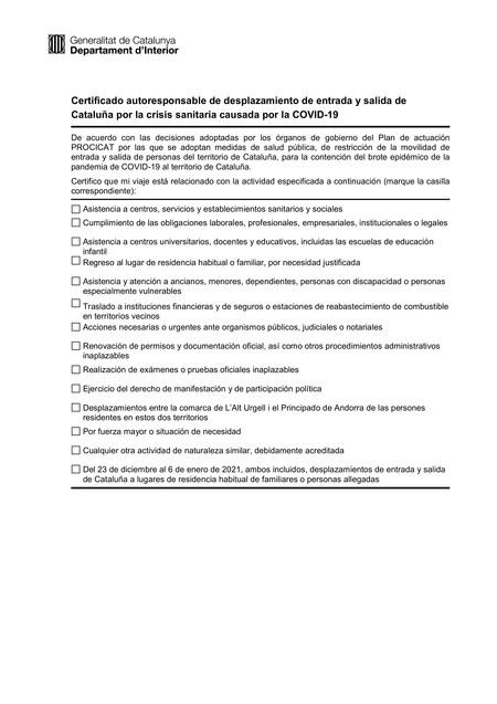Cataluna Declaracion Responsable Es