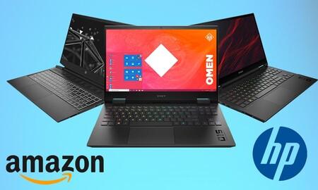 Ofertas en portátiles gaming HP en Amazon: hazte con un potente equipo para jugar ahorrando entre 120 y 300 euros