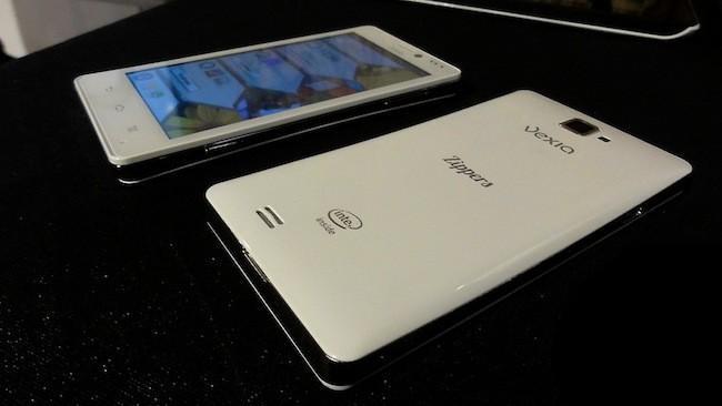 Vexia Zippers Phone, nuevo smartphone Android español sobre la mesa