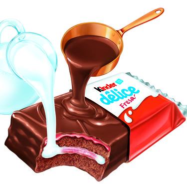 Kinder Délice Fresa, el nuevo producto de la familia Ferrero, es 100% mexicano