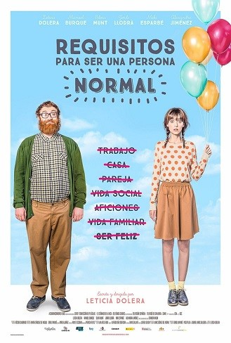 'Requisitos para ser una persona normal', tráiler y cartel