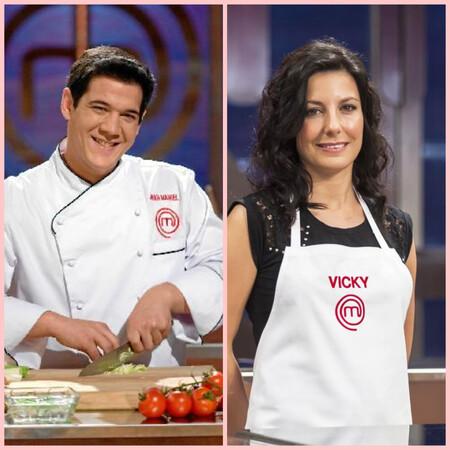 Juan Manuel Reche y Vicky Pulgarín