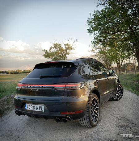 Porsche Macan S Prueba trasera