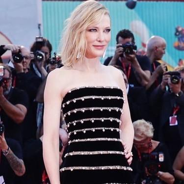 """Festival de Venecia 2019: Nieves Álvarez y Cate Blanchett han capitaneado la impresionante alfombra roja de """"Joker"""""""