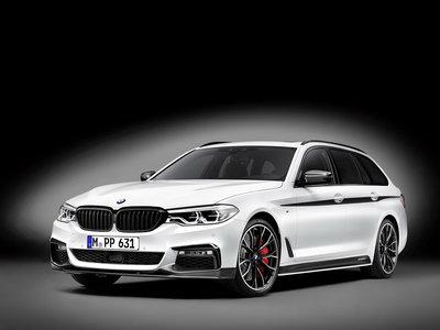 BMW Serie 5 Touring 2017 estrena accesorios M Performance