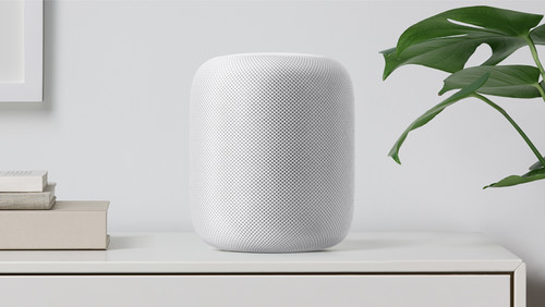 HomePod es el altavoz inteligente de Apple que quiere reinventar la música en casa con la ayuda de Siri
