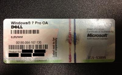 Windows 8 integrará su número de serie ahora en el BIOS