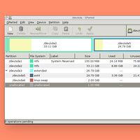 GParted, el conocido editor de particiones open source, tiene una nueva versión que añade soporte para exFAT