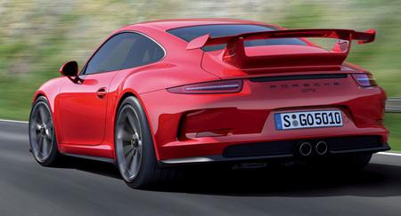 Porsche 911 GT3 (991), filtrado su aspecto