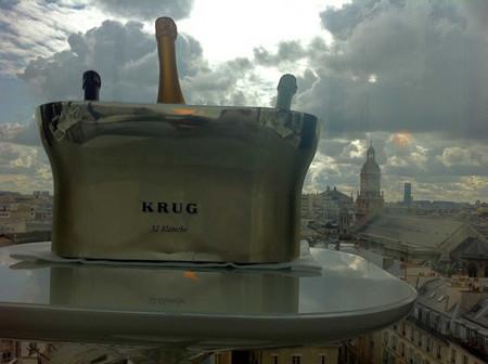 Krug, Alain Ducasse y el hotel Place Athénée organizan exclusivas cenas para 14 comensales