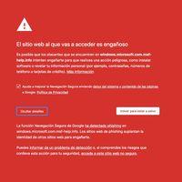 Visitar una determinada página web desde Google Chrome puede provocar el bloqueo temporal de tu PC con Windows