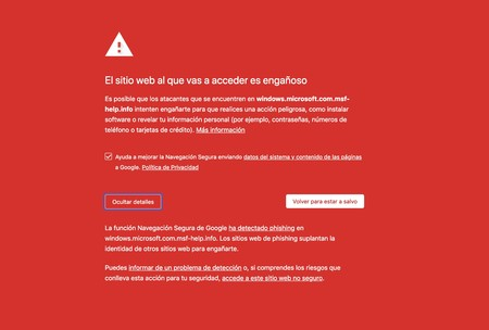 Visitar una determinada página web desde Google Chrome puede provocar el bloqueo temporal de tu PC con Windows
