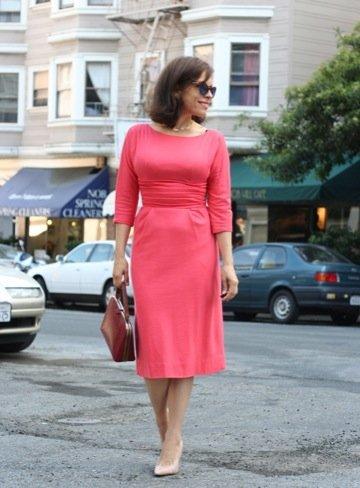 El estilo de Jennine Jacob rosa