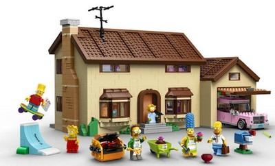La casa de Lego de 'Los Simpson', la imagen de la semana