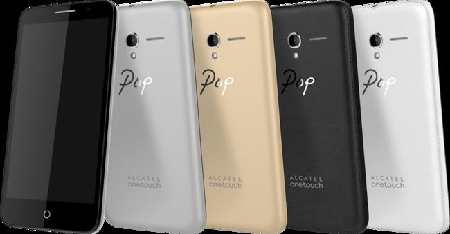 Los Alcatel Pop 3 Llegan A Espa U00f1a Para Echar M U00e1s Madera A La Competida Gama De Entrada