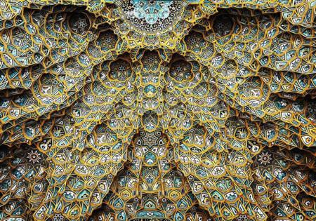 La fascinante belleza de los detalles arquitectónicos de Irán