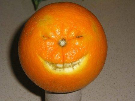 Para naranja de agua la de piel cascara