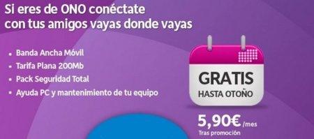 ONO ofrecerá Internet móvil gratis este verano a sus clientes de algún servicio fijo