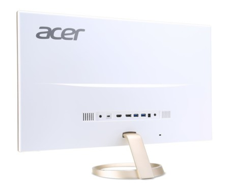 Acer H277hu Back View 0