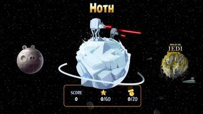 Angry Birds Star Wars se actualiza con más niveles en Windows Phone 8