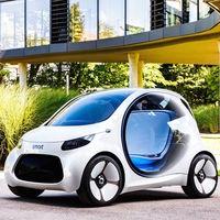 Smart EQ Vision Concept, el futuro para Smart pinta sin volante ni pedales, y compartido