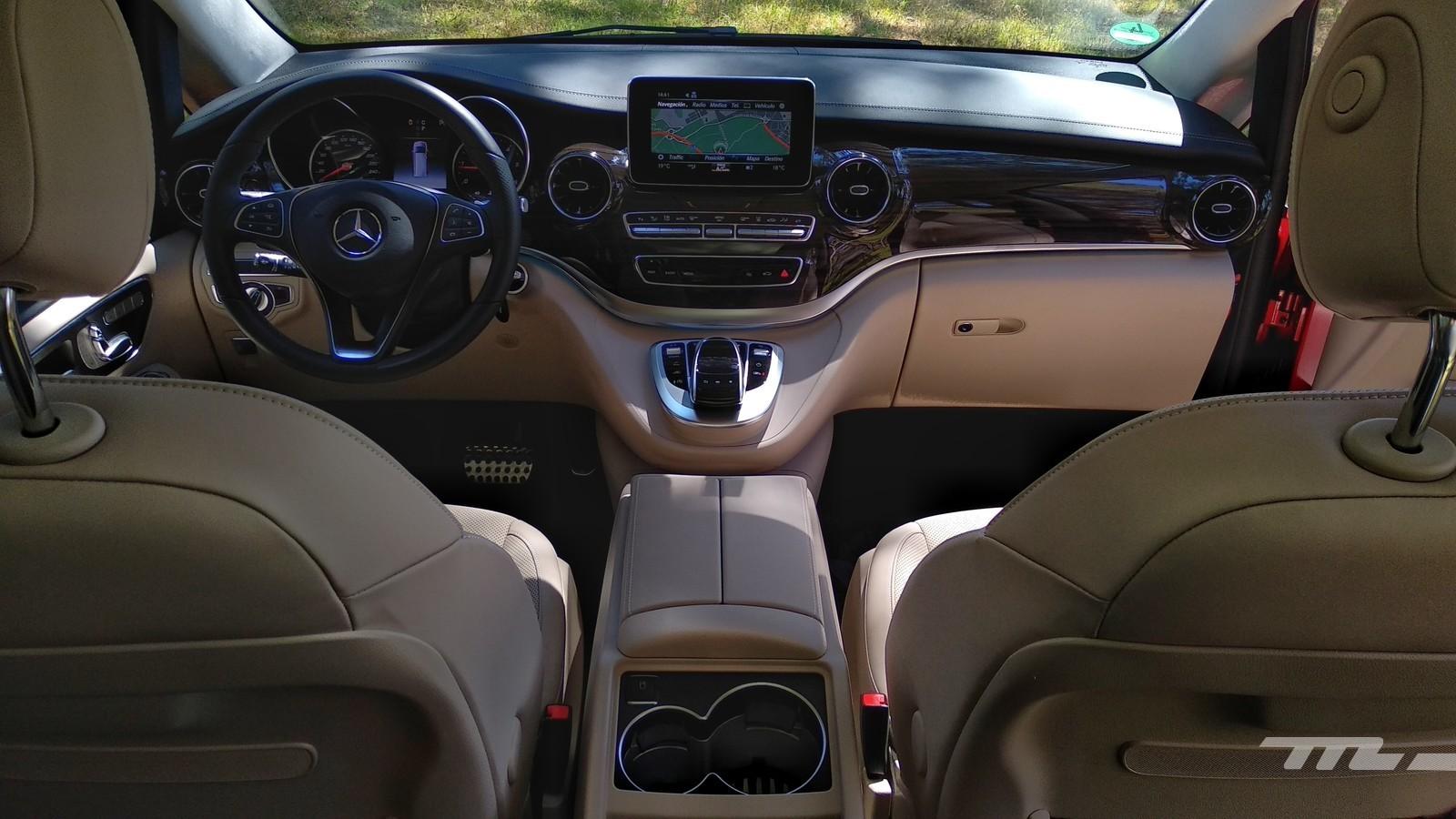 Foto de Mercedes-Benz Clase V (presentación) (17/17)