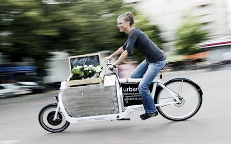 iBullit, una bicicleta eléctrica con baúl de carga y 275 kilómetros de autonomía