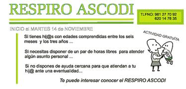 Respiro, un servicio de cuidado infantil en Galicia