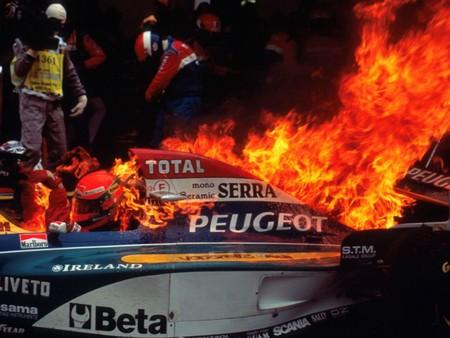 Irvine Peugeot F1 1995