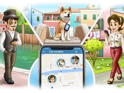 Con Telegram 4.4 puedes compartir tu ubicación en tiempo real y otras mejoras