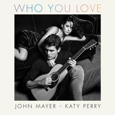 ¡Pero qué par de tortolitos! John Mayer y Katy Perry cantan (y posan) juntos