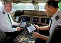 El iPad se sube a la cabina del piloto en EEUU